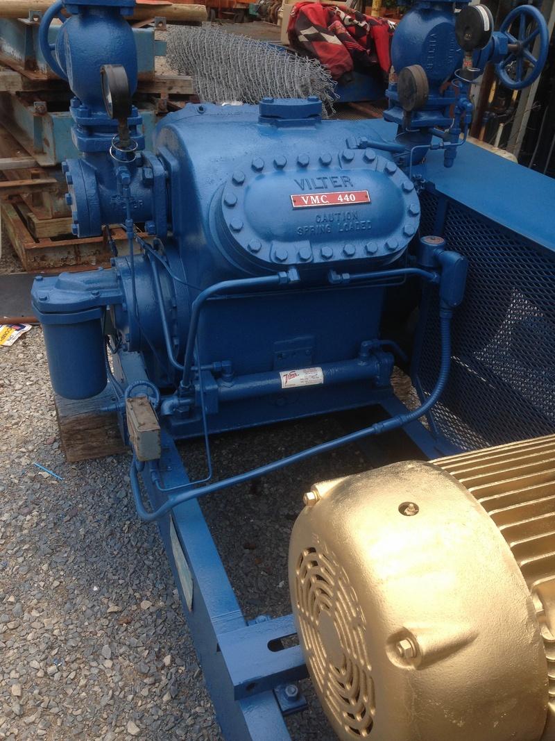 Vilter VMC 440 Ammonia Compressor for sale   ARSS