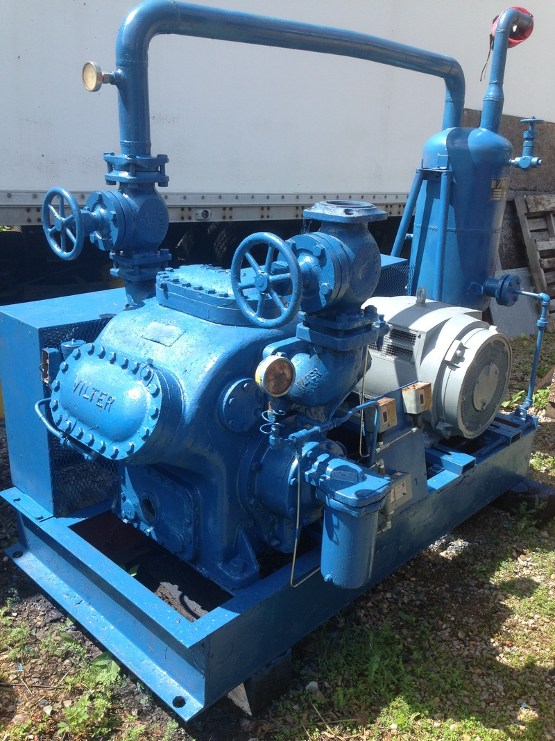 Vilter VMC 446 ammonia compressor